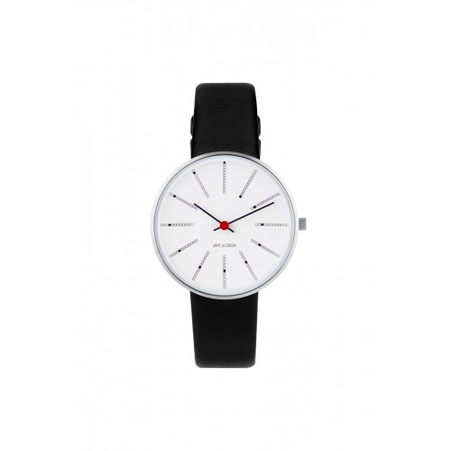 Arne Jacobsen Bankers Ur 34 mm 53101-1601