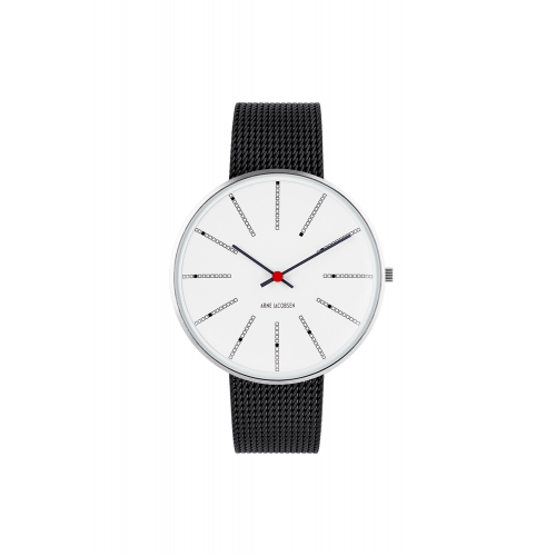 Arne Jacobsen Bankers Ur 40 mm 53102-2010
