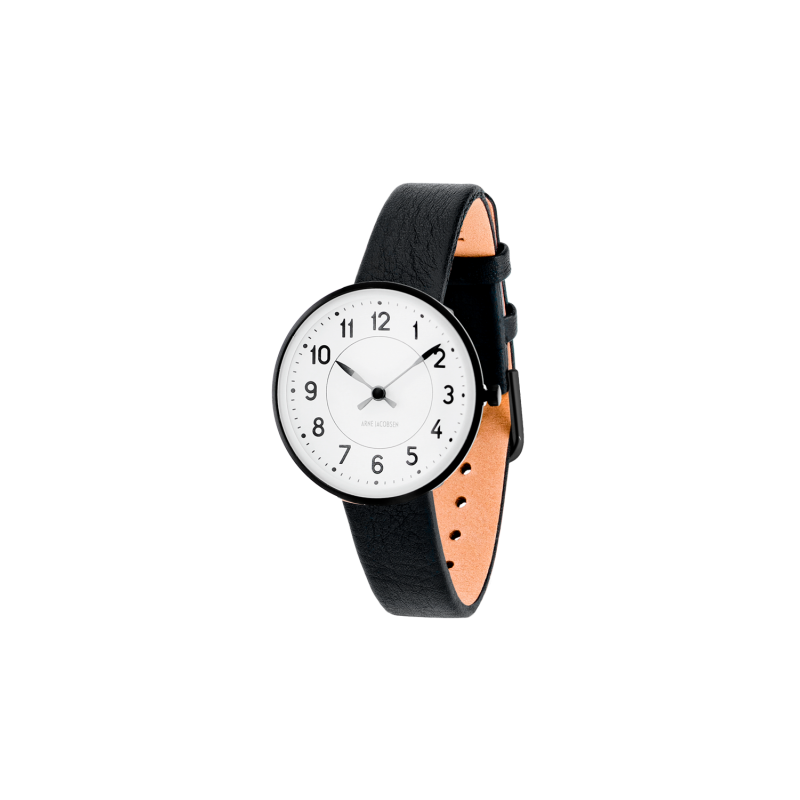 Arne Jacobsen Station Ur 30 mm 53400-1401B