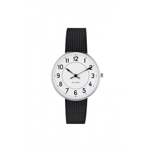 Arne Jacobsen Station Ur 34 mm 53401-1610