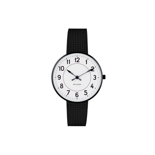 Arne Jacobsen Station Ur 34 mm 53411-1610
