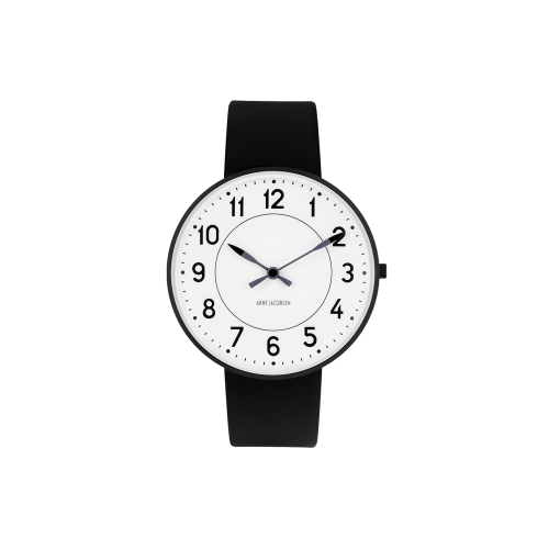 Arne Jacobsen Station Ur 40 mm 53412-2001B