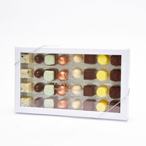 Aalborg Chokoladen Innovativ Æske 32 stk
