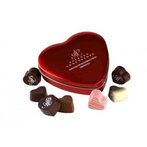 Aalborg Chokoladen Hjerteæske 7 stk
