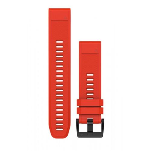 Garmin QuickFit 22 mm Silikone Urrem Rød