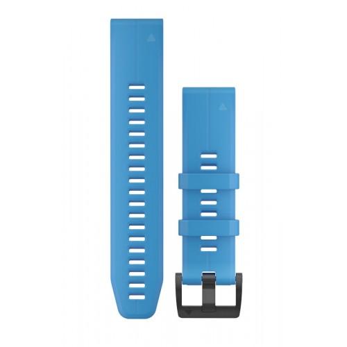 Garmin QuickFit 22 mm Silikone Urrem Blå