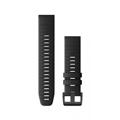 Garmin QuickFit 22 mm Silikone Urrem Sort