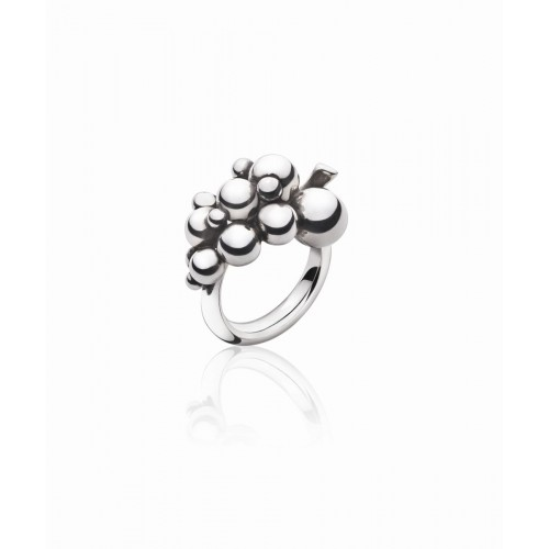 Georg Jensen Moonlight Grapes Lille Ring 2000...