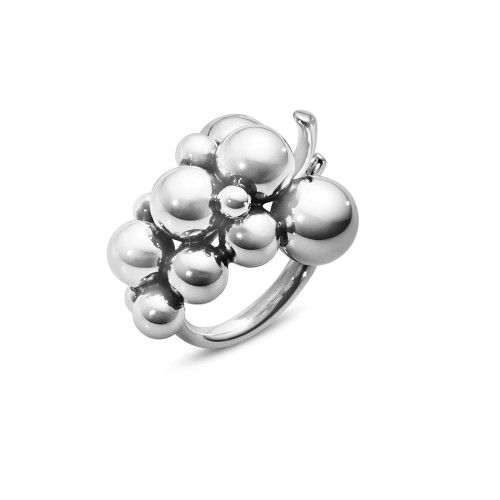 Georg Jensen Moonlight Grapes Medium Ring 20000388
