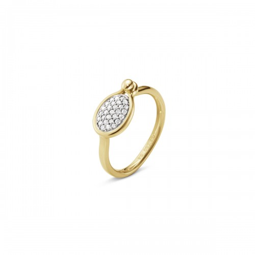 Georg Jensen Savannah Ring Diamanter Lille 10...