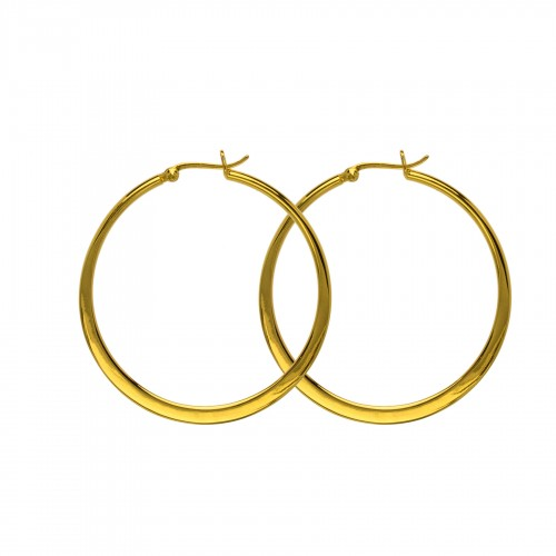 Hultquist Classic Asta Large Hoops S01006 G