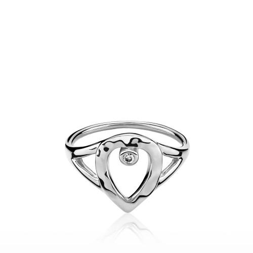 Cecilie Schmeichel Ring Sølv a4169sws