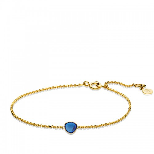 Izabel Camille Bell Armbånd a3098gsblue