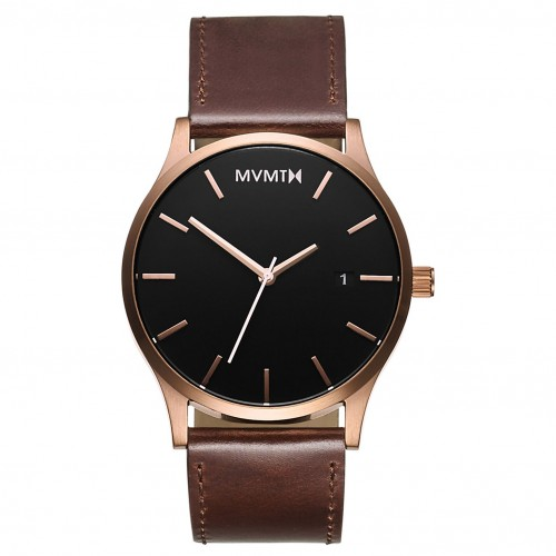 MVMT Classic Rose Gold Brown D-MM01-RGBL