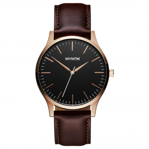 MVMT 40 Series Rose Gold Brown D-MT01-BLBR