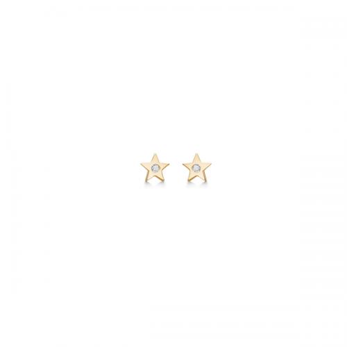 Mads Z Blinking Star Øreringe