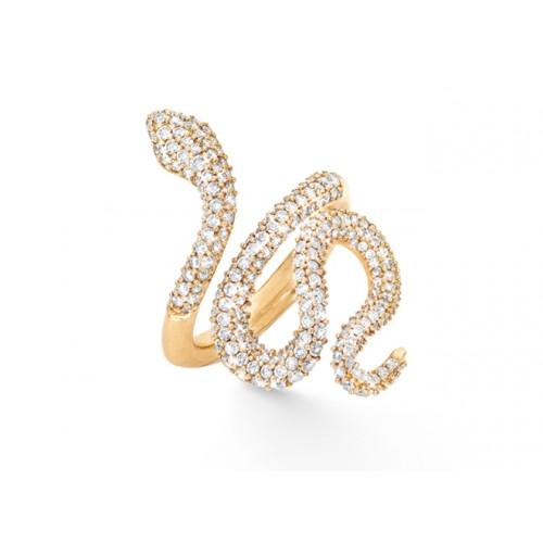 Ole Lynggaard Snakes Ring Mellem A2673-404