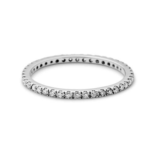 Ro Copenhagen Rock Classic Grey Diamant Ring ...