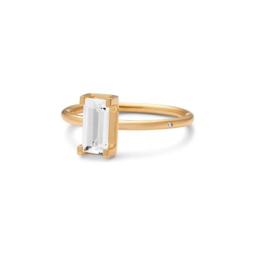 Ro Copenhagen Nord White Ring Turned 111127