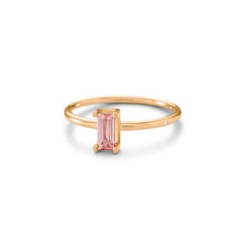 Ro Copenhagen Nord Pink Ring S Turned 112690