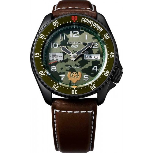 Seiko 5 Sport Street Fighter V Guile Limited ...