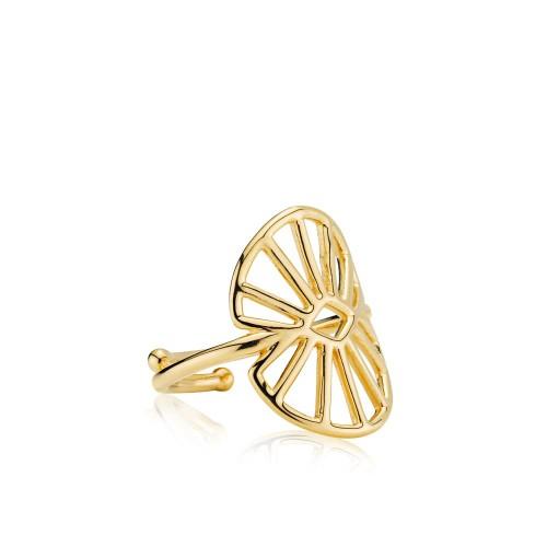 Sara by Sistie Ring Forgyldt Medium z4012gs
